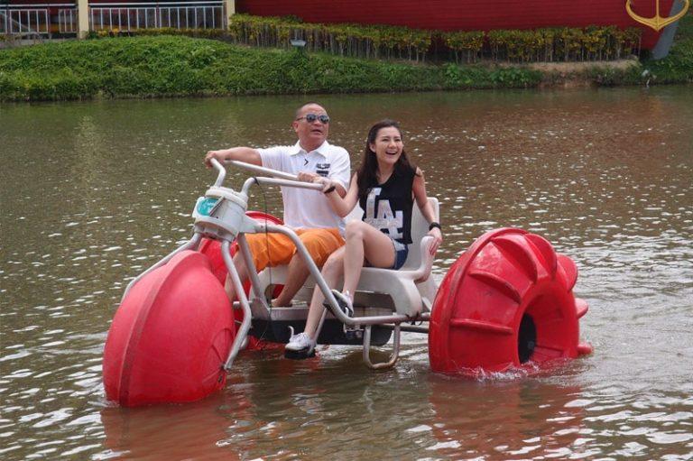 Brookside Valley Resort Hotel in Rayong: Aqua Cycle